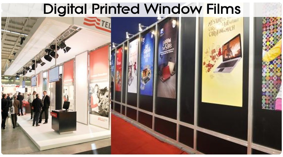 Digital Printed Window Films