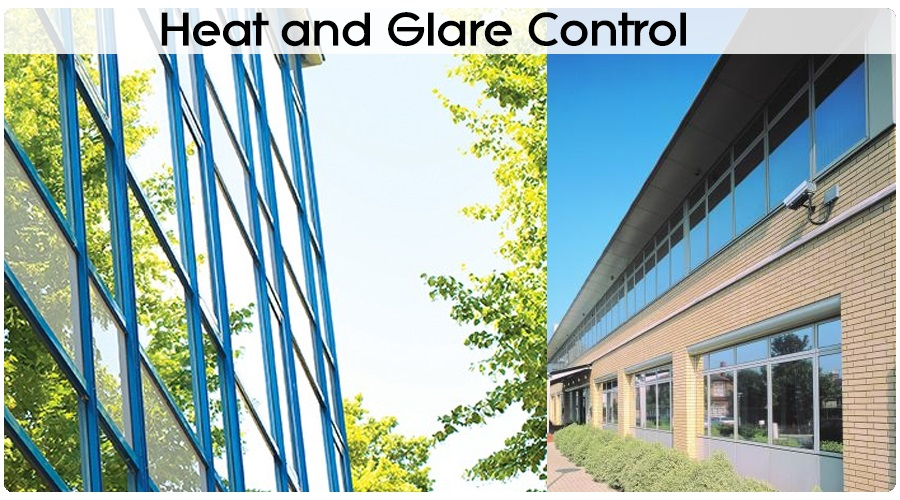 Heat and Glare Control Window Films