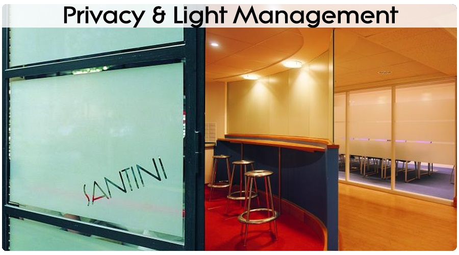 Privacy Light Management Window Films
